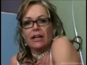 MILF pussy licked by stepson